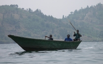 Sul lago Kivu al confine con il Congo - © Barbara Lomonaco