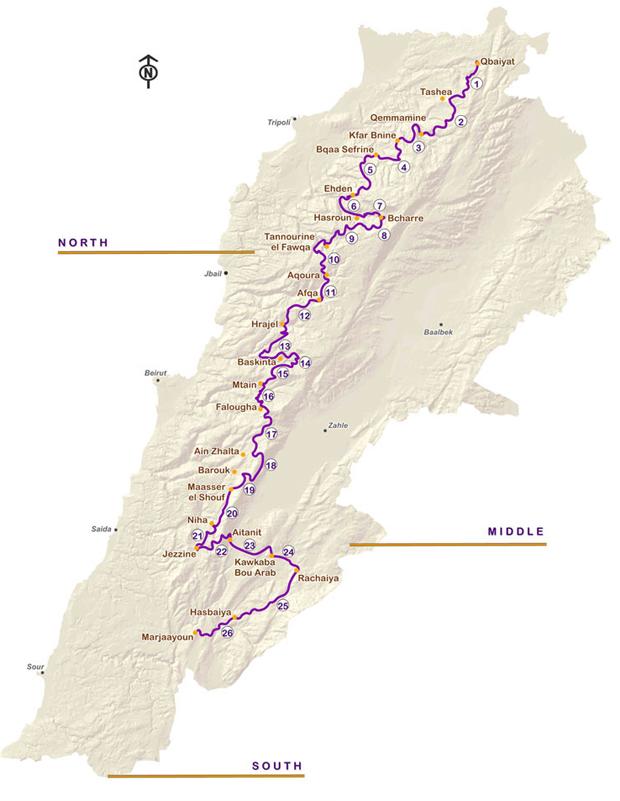 Lebanon Mountain Trail