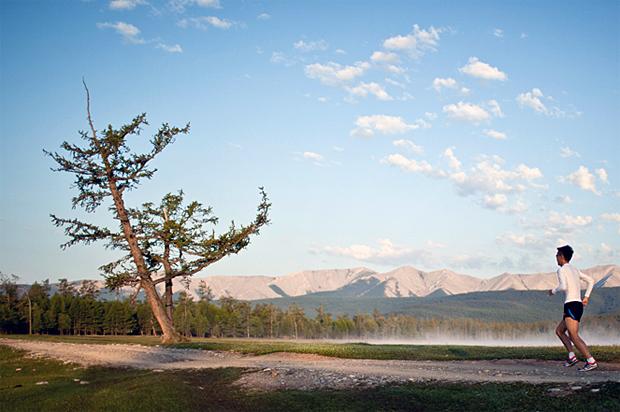 Mongolia Sunrise to Sunset